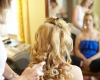 Tryst on site wedding hair and makeup