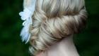 Salon Tryst Wedding Hair Updo Flower