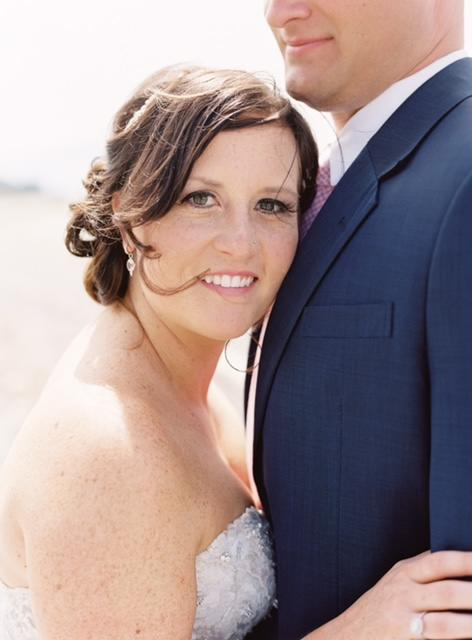 Wedding hair and makeup with Salon Tryst in bellingham washington